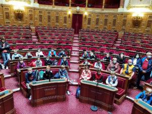 Les enfants au Sénat